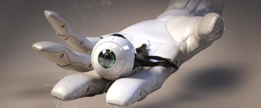 Bioniska ögat tillverkat av Sarif Industries.
